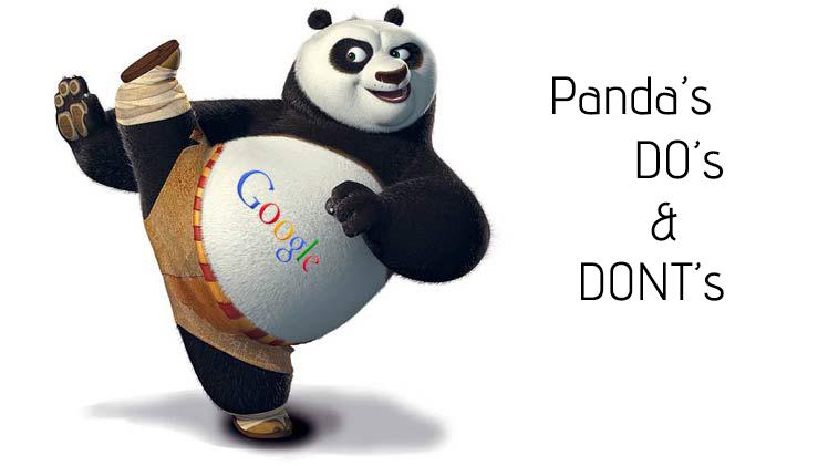 Google Panda 4.1 Dos and Don'ts!
